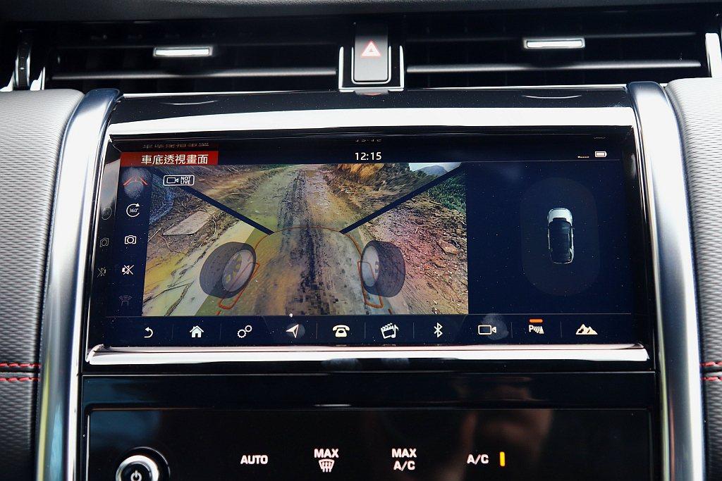 ClearSight對地視野以及水深偵測系統,讓以往前方看不見的路況,用最先進科...