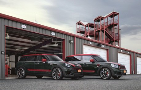 全新MINI JCW Clubman&Countryman ALL4 進駐全台MINI展示中心