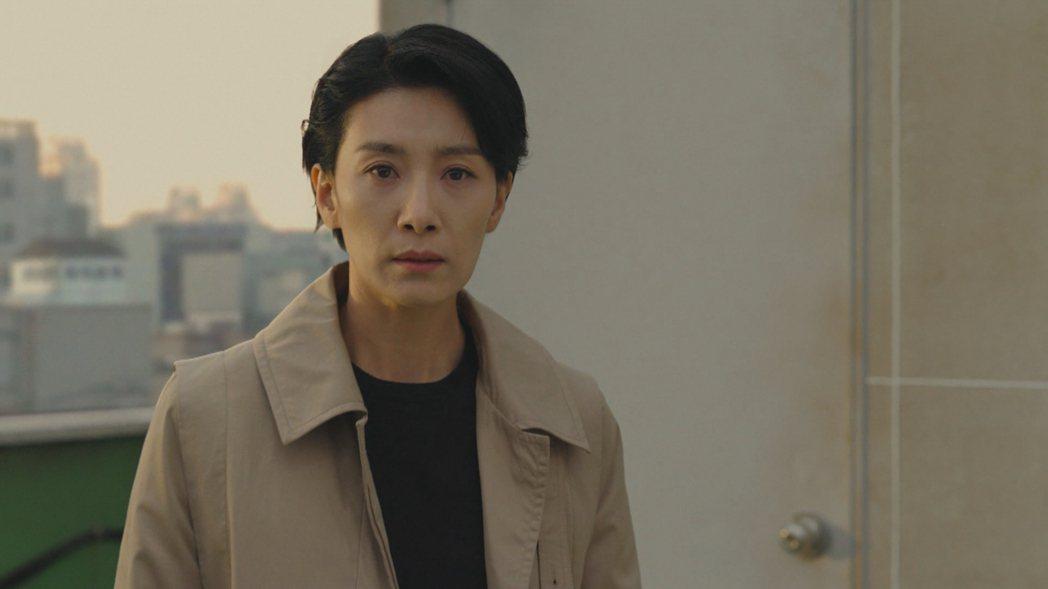 金瑞亨在韓劇「無人知曉」飾演刑警。圖/friDay影音提供