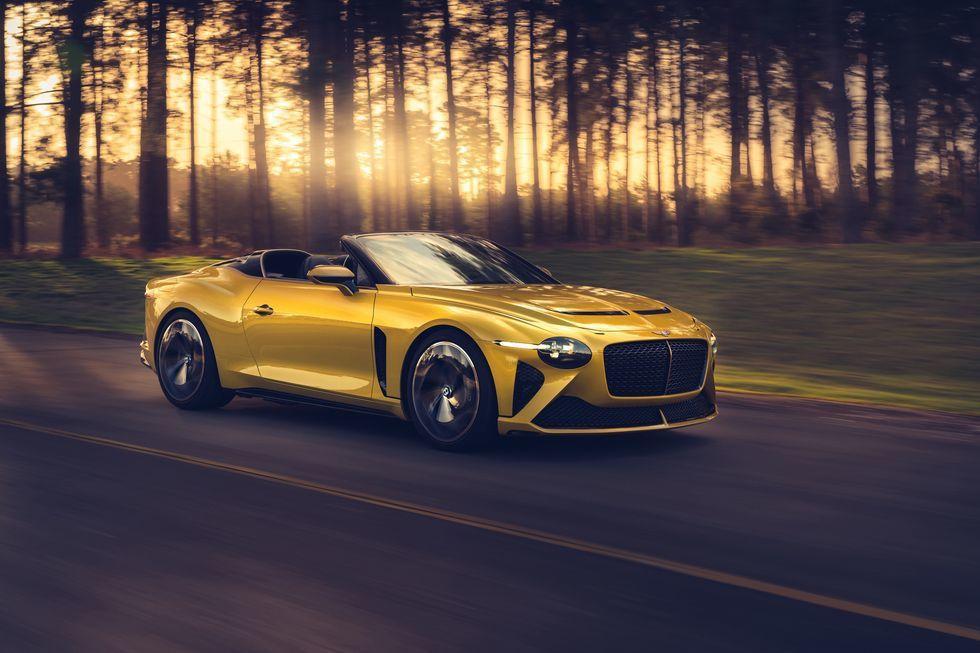 賓利新發表的豪華超跑Bacalar。 摘自Bentley