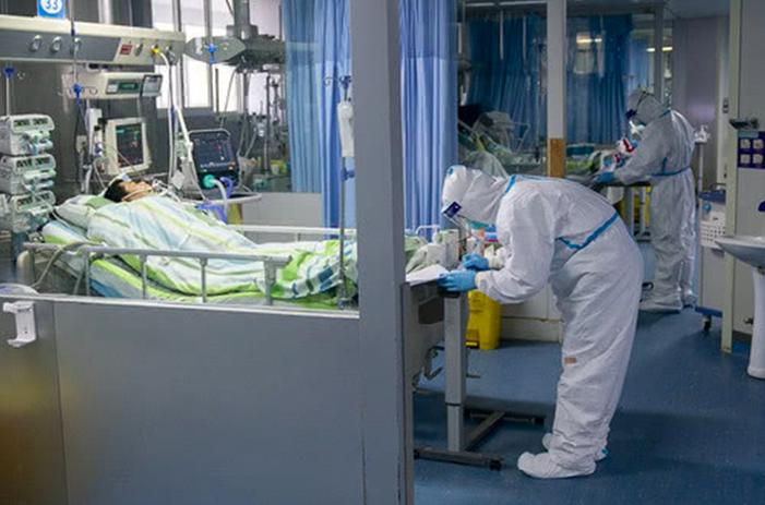 中國大陸接連出現新冠肺炎病人治癒後再發病的案例。(新浪微博照片)