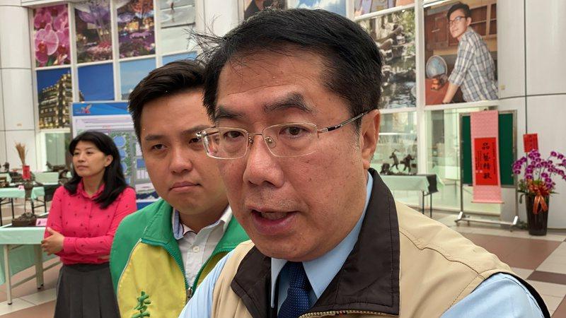 日本、韓國新冠肺炎疫情嚴峻,台南市長黃偉哲致函給日韓姊妹市、友誼市表達關心。記者鄭維真/攝影