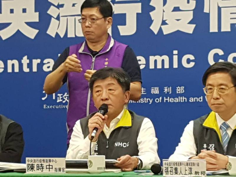 陳時中表示食藥署盤點後發現雖有些原料藥短缺,但都有替代藥。記者楊雅棠/攝影