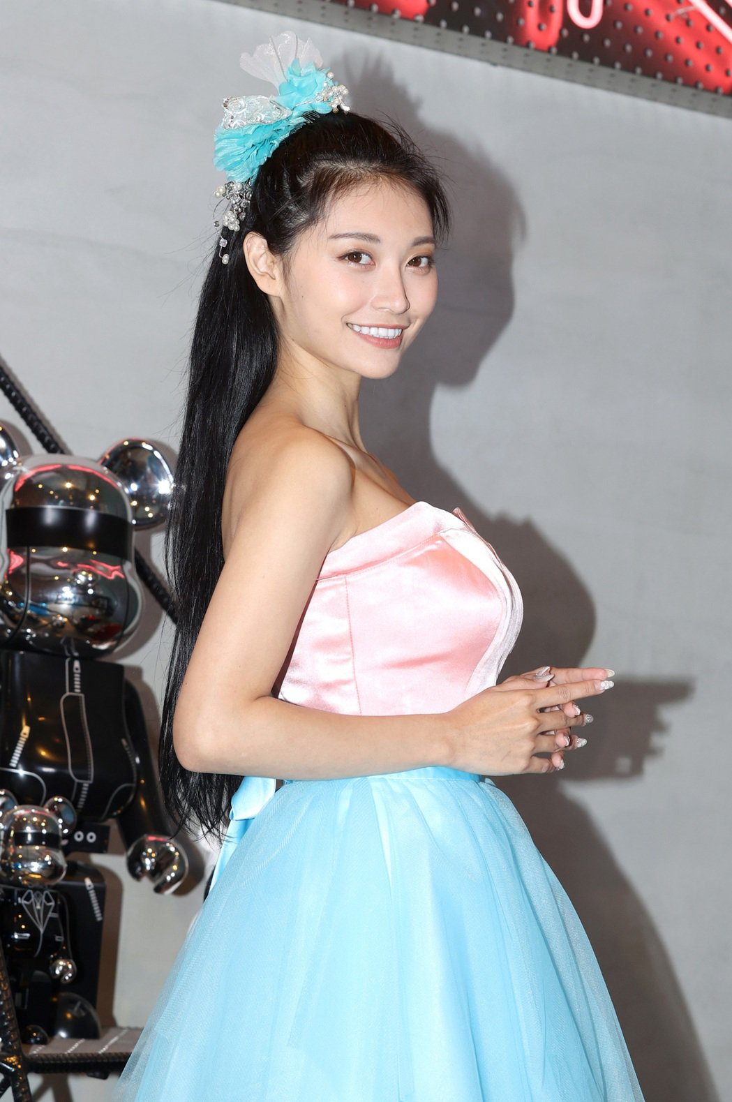 祈錦鈅舉辦單曲「I Do」媒體見面會。記者林澔一/攝影