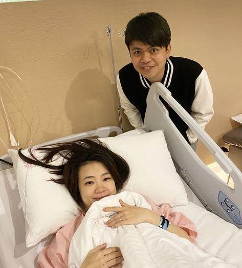 網紅蔡阿嘎及他的孕妻「二伯」遭到攻擊。圖/擷自蔡阿嘎IG