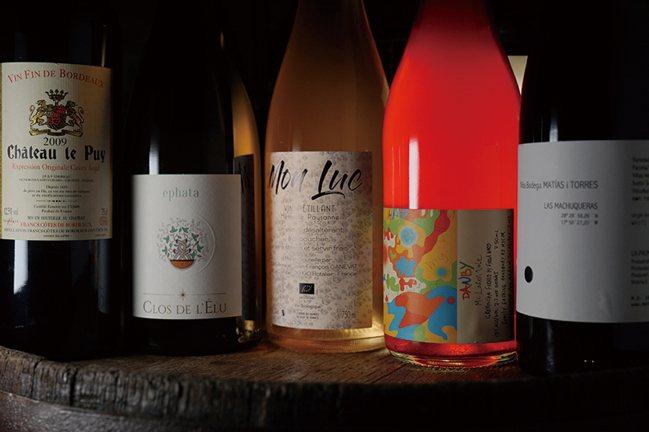 挑選的11款酒大多為自然派葡萄酒,但類型卻是非常多樣。 圖/積木文化提供