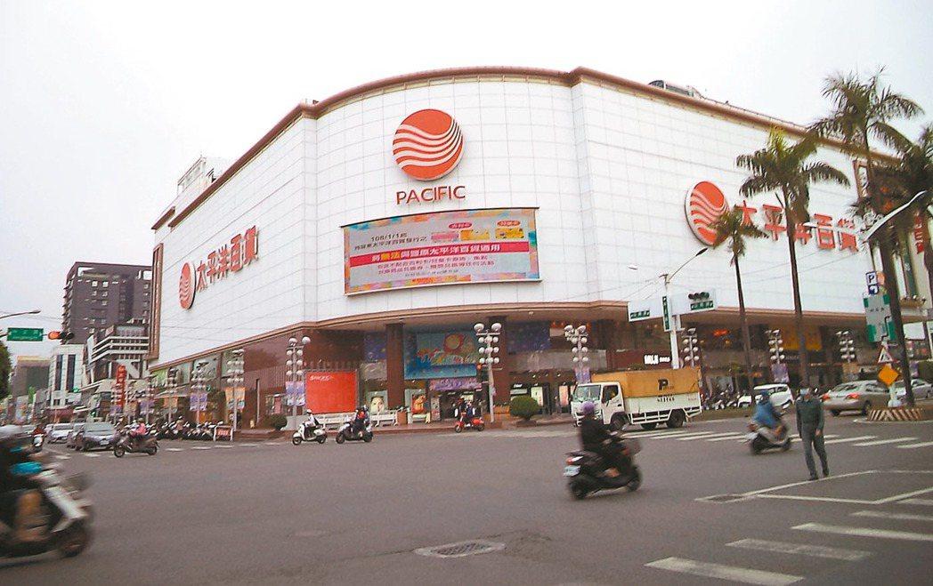 太平洋百貨為屏東市區精華地段。 圖/全國不動產提供