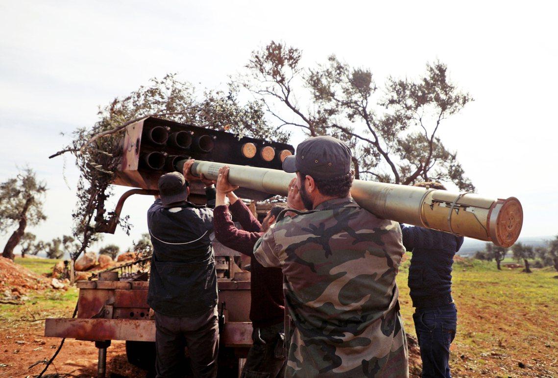 圖為敘利亞反抗軍。 圖/法新社
