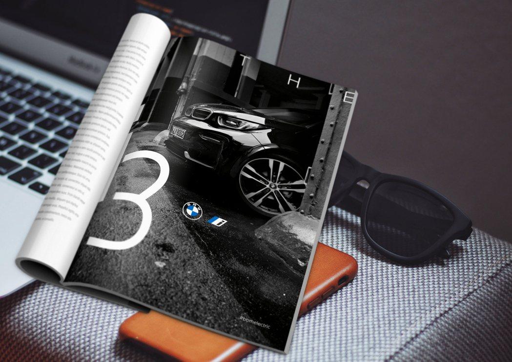 不只BMW,就連BMW i、BMW M也將各自Logo更換為平坦及透明化。 摘自...