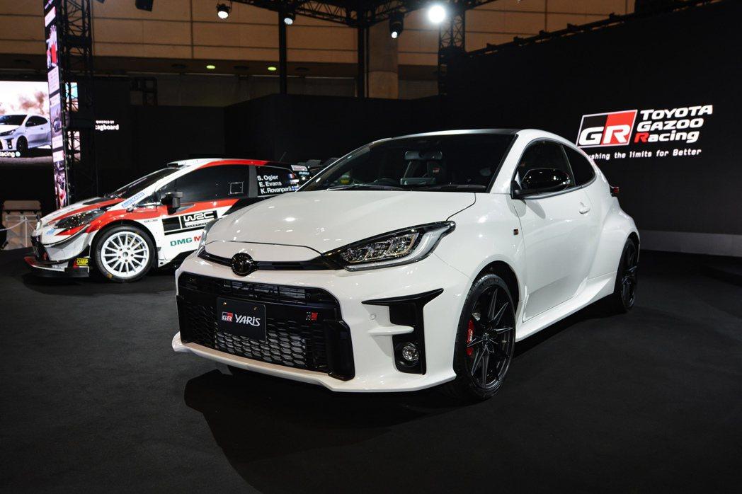Toyota GR Yaris在年初的東京改裝車展中正式發表。 摘自Yaris