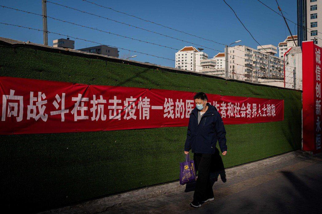 房地產市場是觀察中國經濟的重要指標,目前情況較去年更加低迷。 圖/法新社