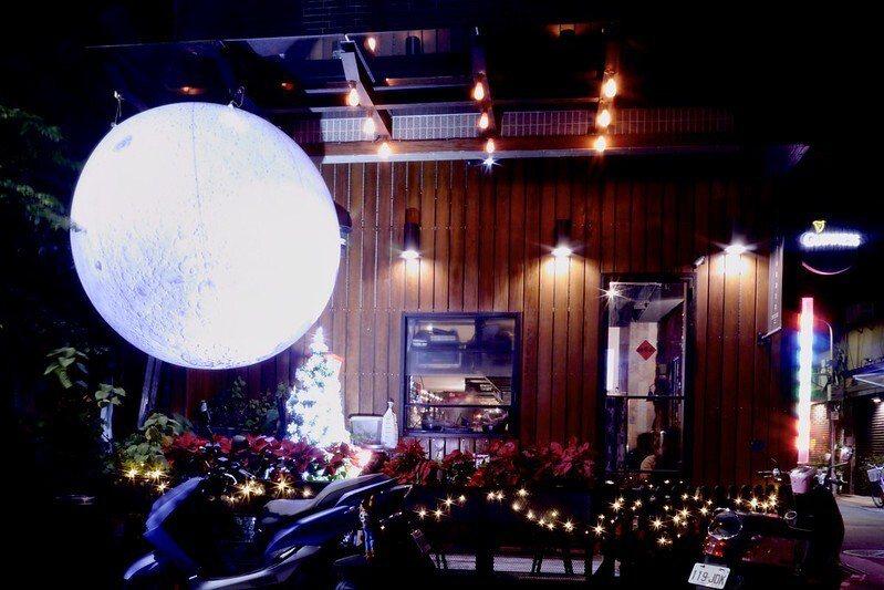 台北第一顆月球的街景裝置,就在LastOrder