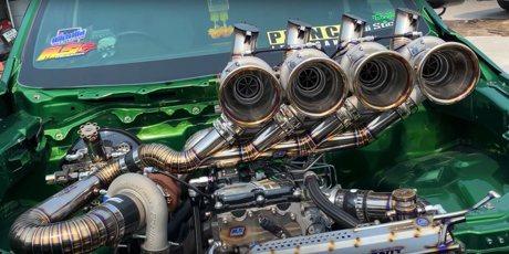 影/渦輪比Bugatti Chiron還多一顆的Isuzu皮卡!