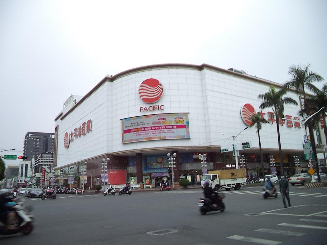 太平洋百貨為屏東市區精華地段。圖/全國不動產提供