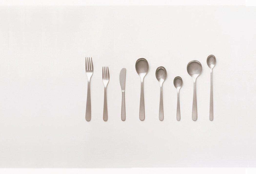 不鏽鋼餐具組,降幅約10%。圖/無印良品提供