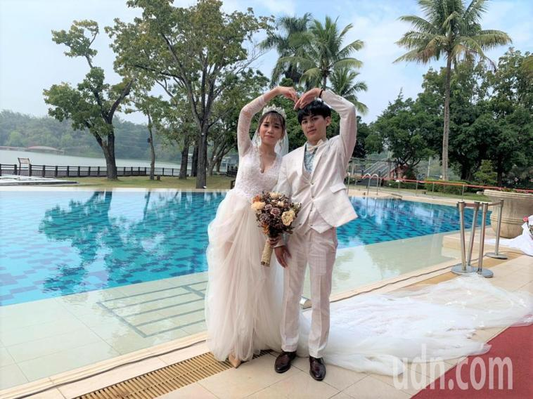 台南市政府推出戶外婚禮方案,要助婚慶業者度過疫情難關。記者吳淑玲/攝影