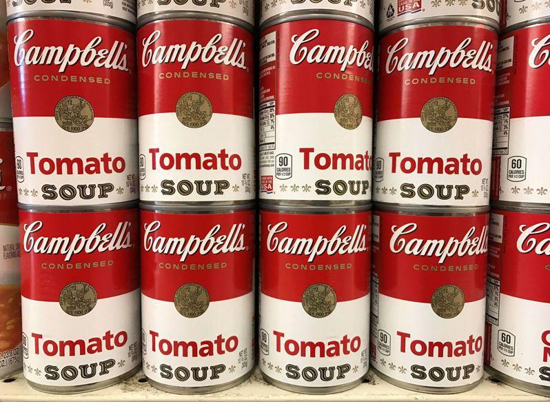 在股市賣壓狂湧時,金寶湯公司卻享有20年來最猛的股價漲勢。路透