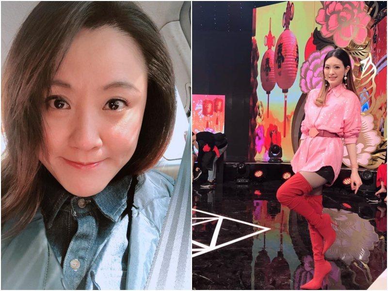 海裕芬讚劉真是「可愛的姐姐」。圖/翻攝臉書