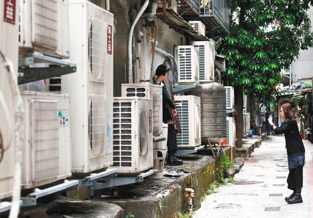 長時間待空調房,體溫調節中樞變遲鈍。圖/聯合報系資料照片