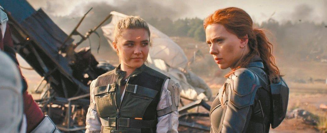 美國漫畫改編電影「X戰警2」被SARS重挫,「黑寡婦」(見圖)將於5月上映。 圖...