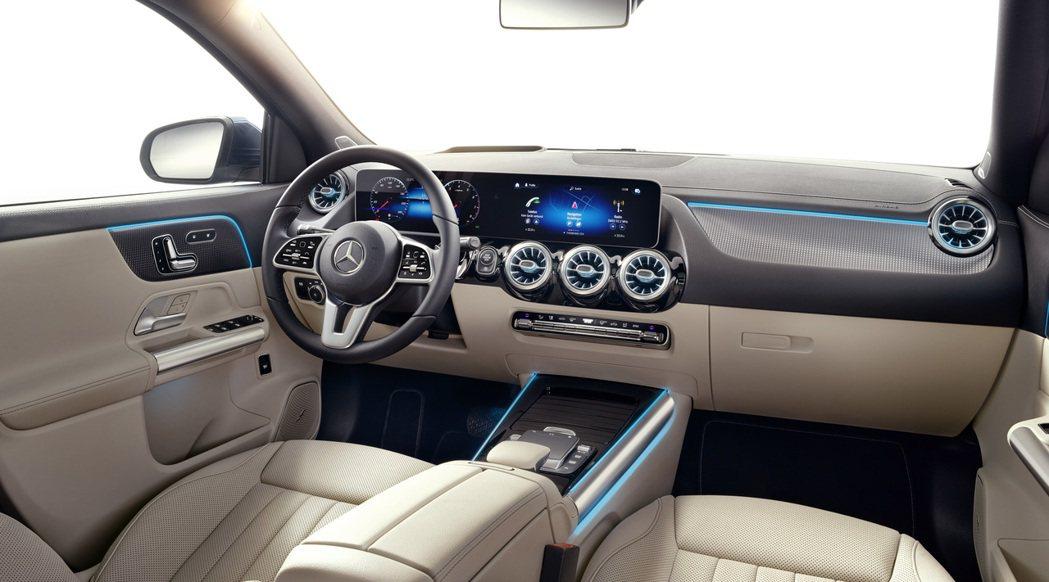 第二代Mercedes-Benz GLA 內裝。 摘自Mercedes-Ben...