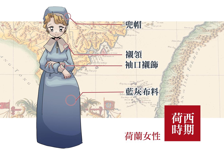 【臺灣服飾誌】荷西時期在臺灣的荷蘭女眷穿什麼?