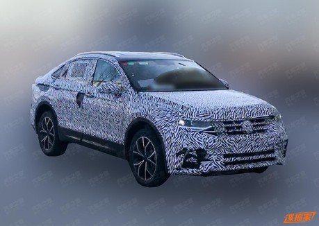 Volkswagen Tiguan也要進軍跑旅界 Coupe車款中國路試捕獲