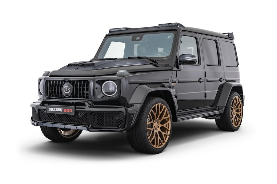 Brabus推出800 Black & Gold Edition 把G63升級到789匹馬力!