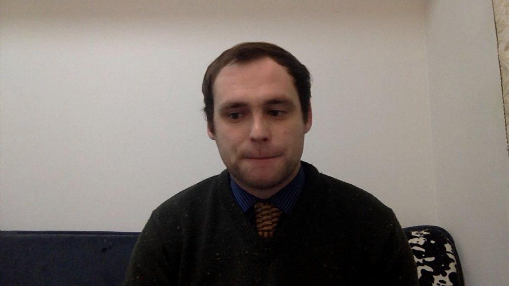 僑居中國大陸武漢市的英國首位確診新冠肺炎患者李德接受《Sky News》訪問,詳...