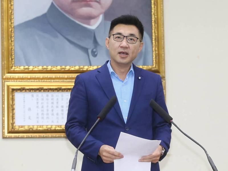 江啟臣當選國民黨主席。記者季相儒/攝影