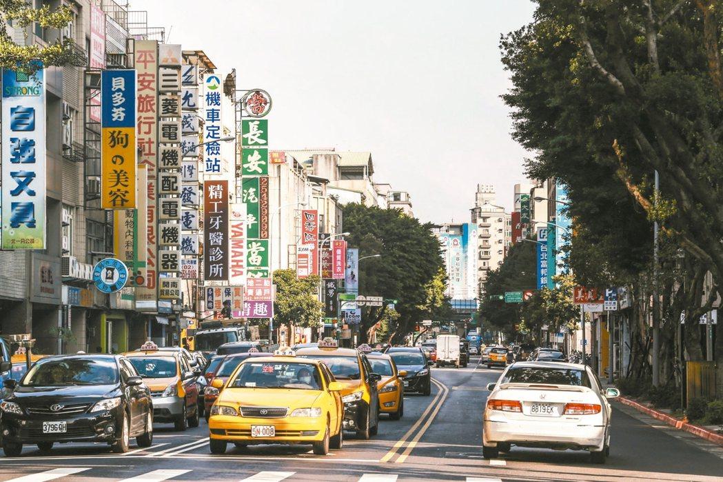 台北市中山區商業繁榮,套房產品多,出租率高,吸引置產族搶進。 (本報系資料庫)