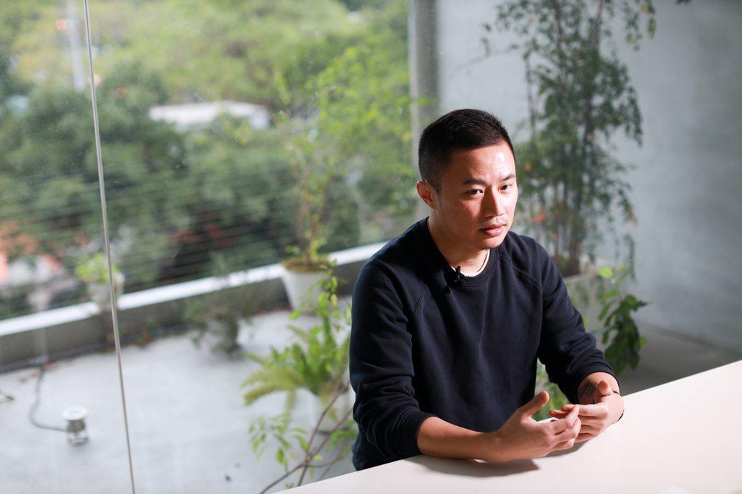 平面設計師聶永真聶永真談「我的質青時代」 圖/吳致碩拍攝