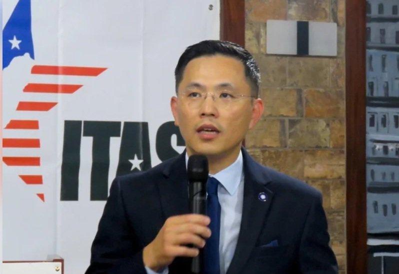 身兼華府智庫台美研究中心的國民黨立委陳以信。圖/本報資料照