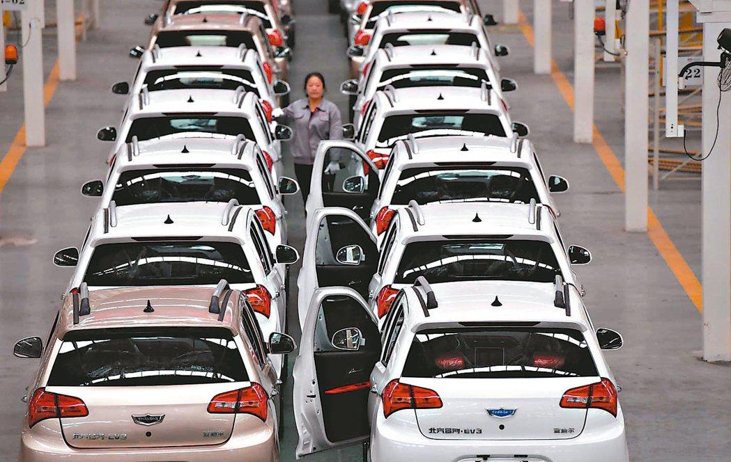大陸車市一片慘綠,2月銷量暴跌,甚至有車企生產量為零,僅靠庫存車撐場,2月銷量較...