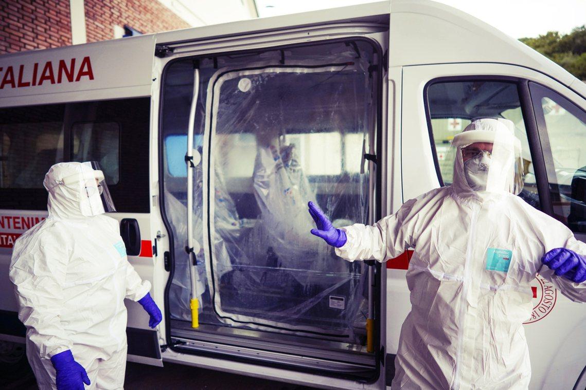 截至3月9日清晨,武漢肺炎在義大利的確診總數已達7,375例、已知366人死亡,...