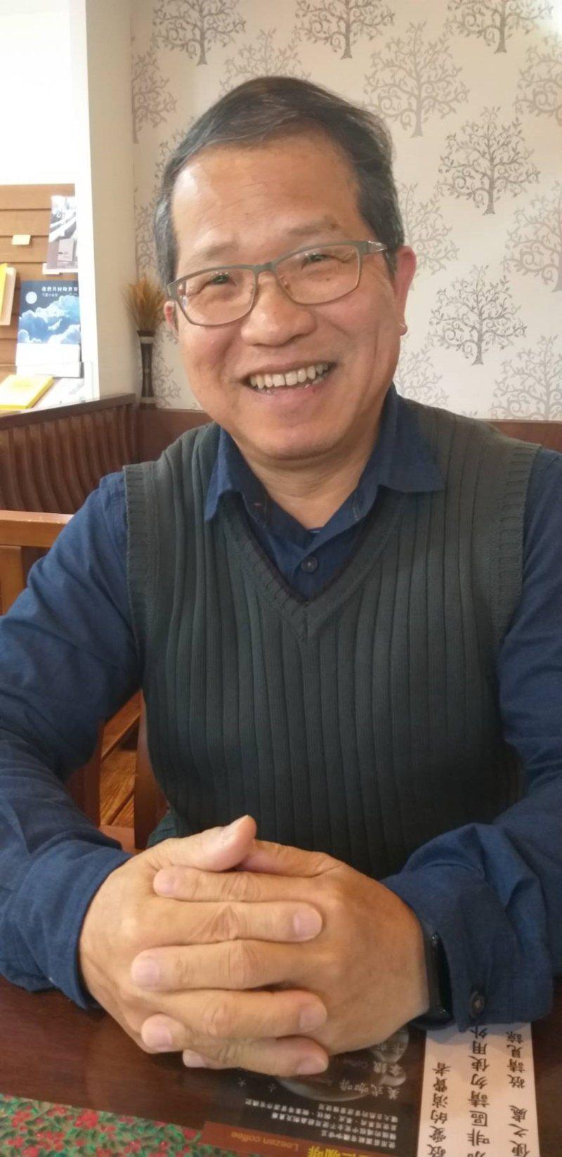 基隆市退休國小校長楊熾瀧說,退休後時間管理分配很重要。 圖/邱瑞杰 攝影