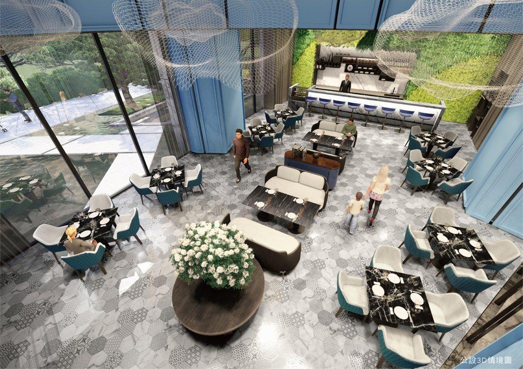 「允將花園城市」公設3D情境圖。圖片提供/允將建設