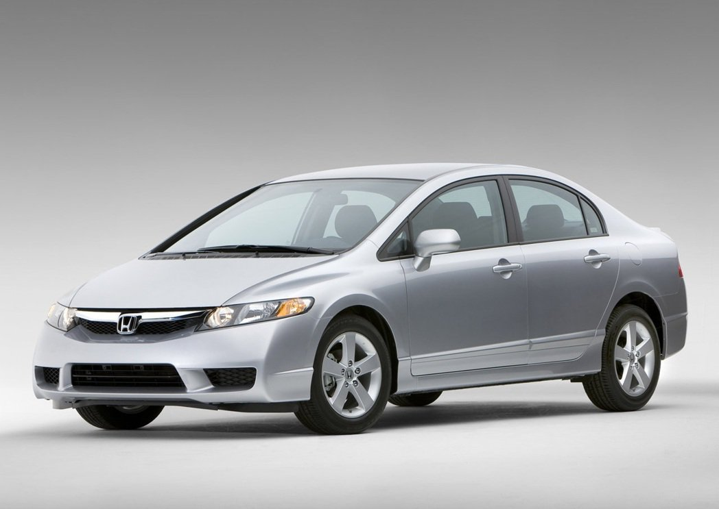 2005-2011美規Honda Civic,在外觀燈具上與其他地區版本略顯不同...