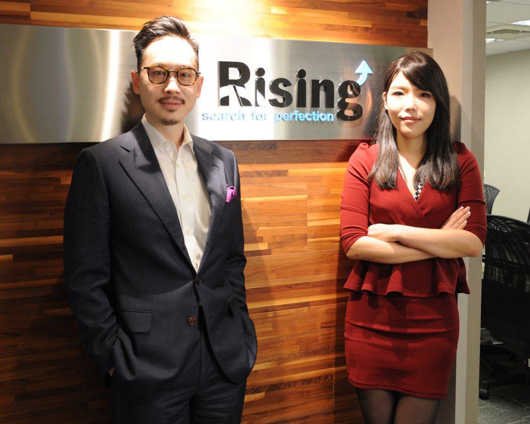 瑞星管顧營運總監李聲揚(左),執行副總蔣宗芸(右)。 瑞星管顧/提供