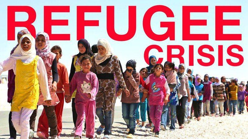 世界各國難民數創新高,平均每2秒就有1位難民產生。(photo byYouTube)