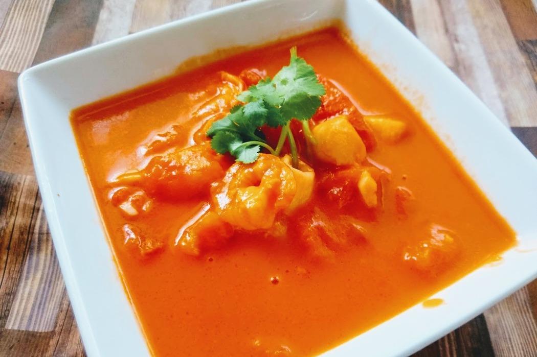 食譜/蕃茄海鮮濃湯,簡單易做又好喝