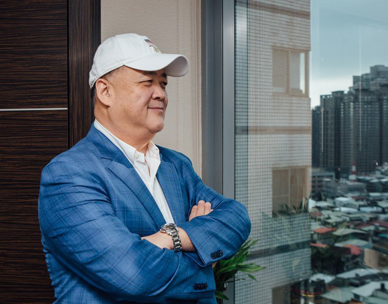 09NERS董事長王冕看好石油產業前景,開採油井獲利跟著噴出。 攝影/孫玉璞