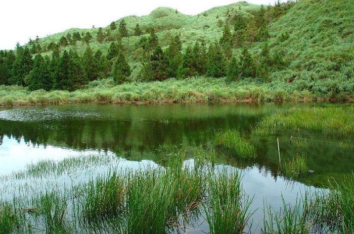 夢幻湖。 圖/Wikimedia