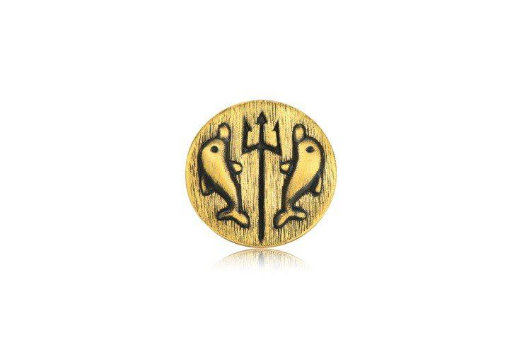 點睛品Charme「酷黑系列」足金豐饒串飾正面,10,300元。圖/點睛品提供