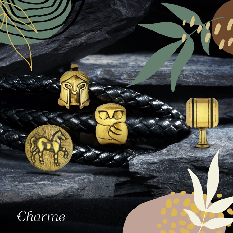 點睛品Charme 「酷黑系列」新品。圖/點睛品提供