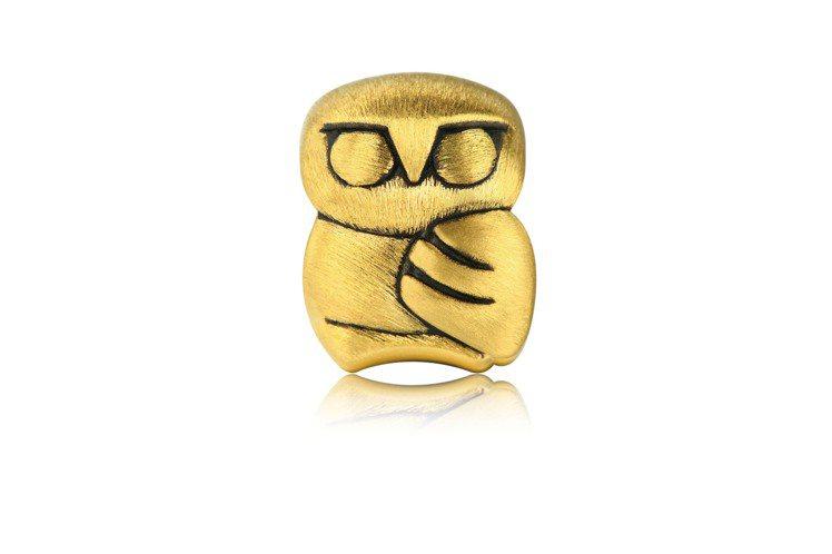 點睛品Charme「酷黑系列」足金聖潔串飾,8,900元。圖/點睛品提供