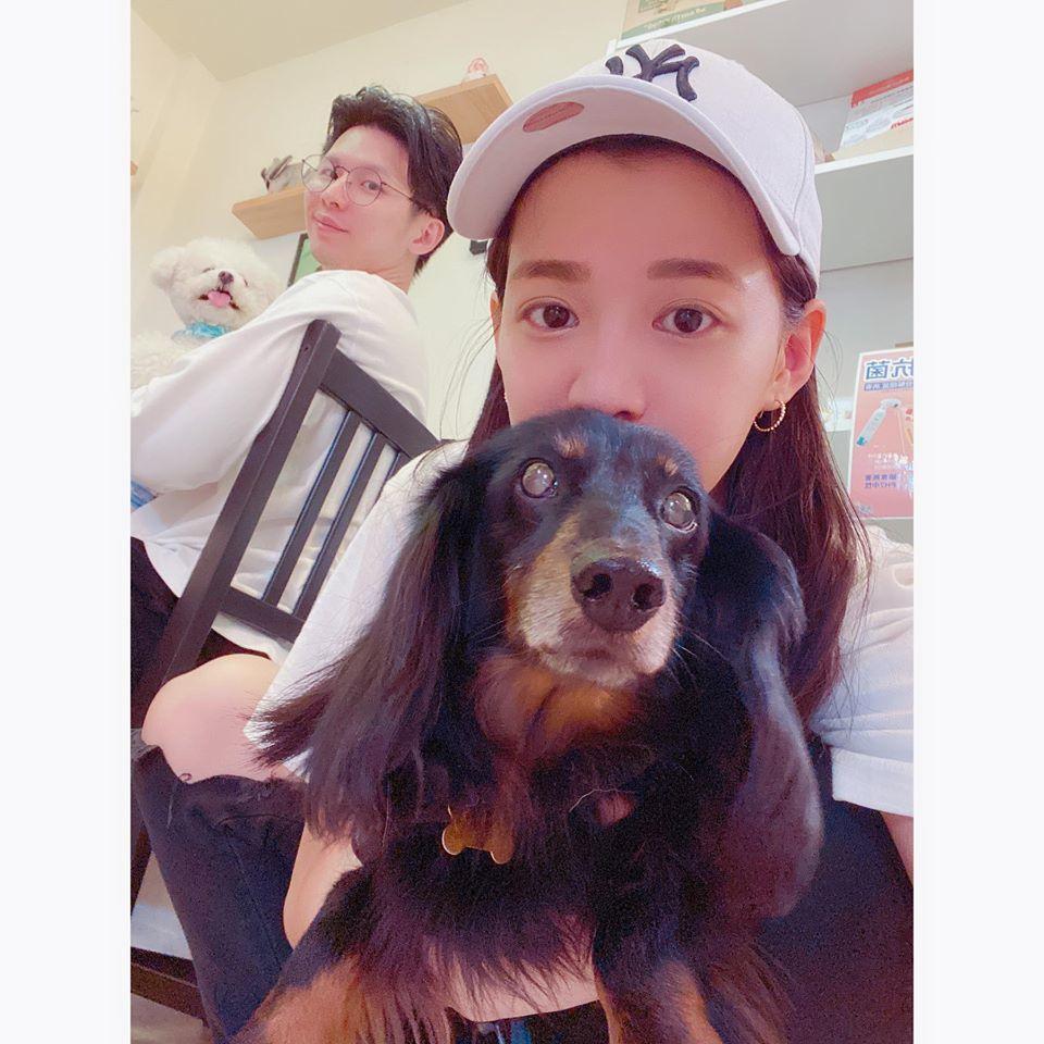 王思平宣布懷孕喜訊。圖/摘自臉書