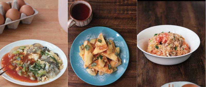 簡單利用小型微電鍋,在家作出各式料理。圖/布克文化提供