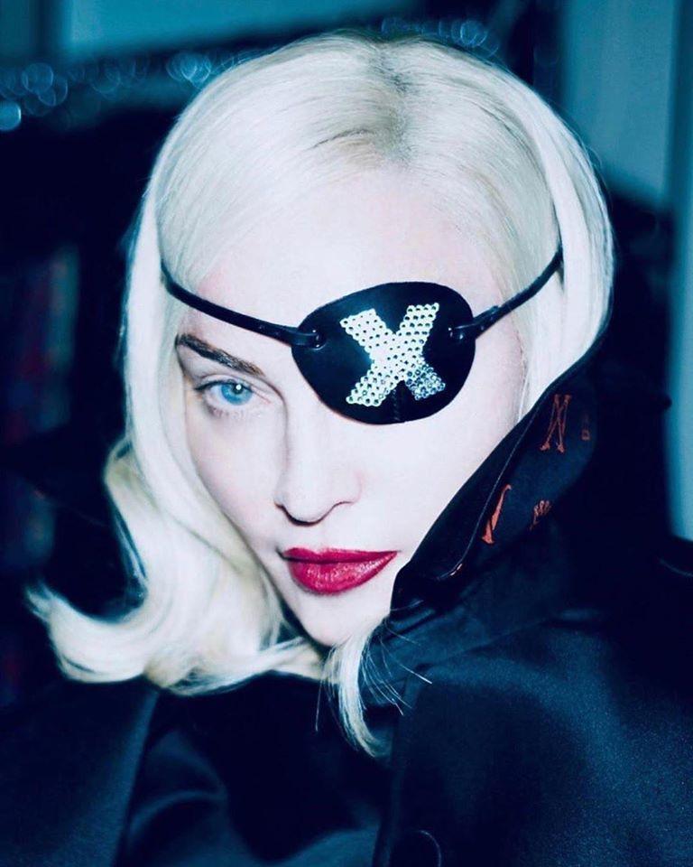 瑪丹娜。圖/擷自臉書