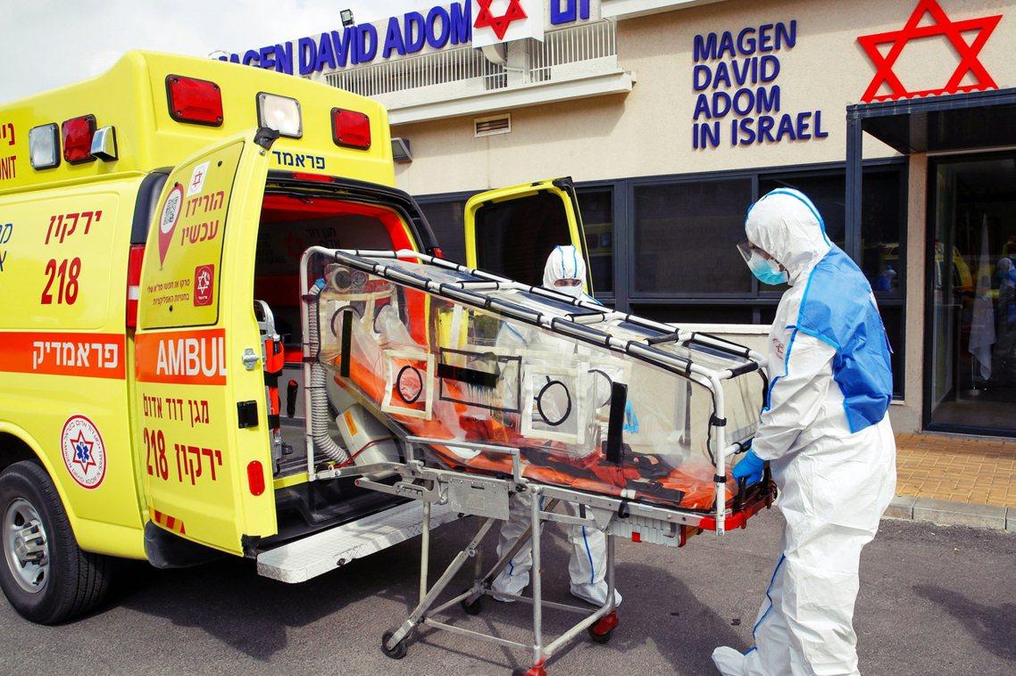截至3月10日為止,以色列境內的武漢肺炎確診病例,已累積至少50人。 圖/法新社